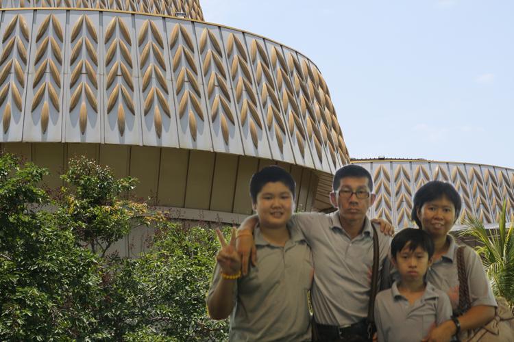 参观稻米博物馆